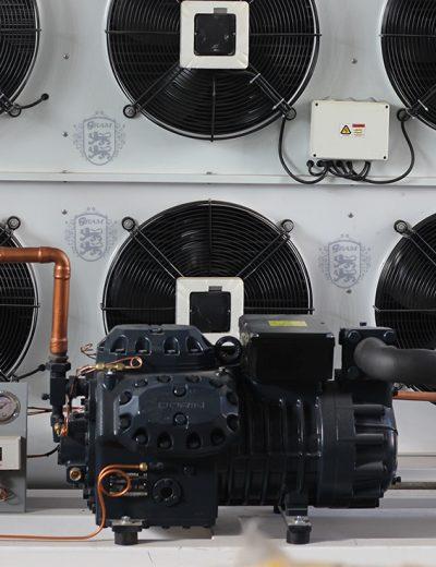 کمپرسورH3500 cc - ساخت سردخانه ، تونل های انجماد و چیلر