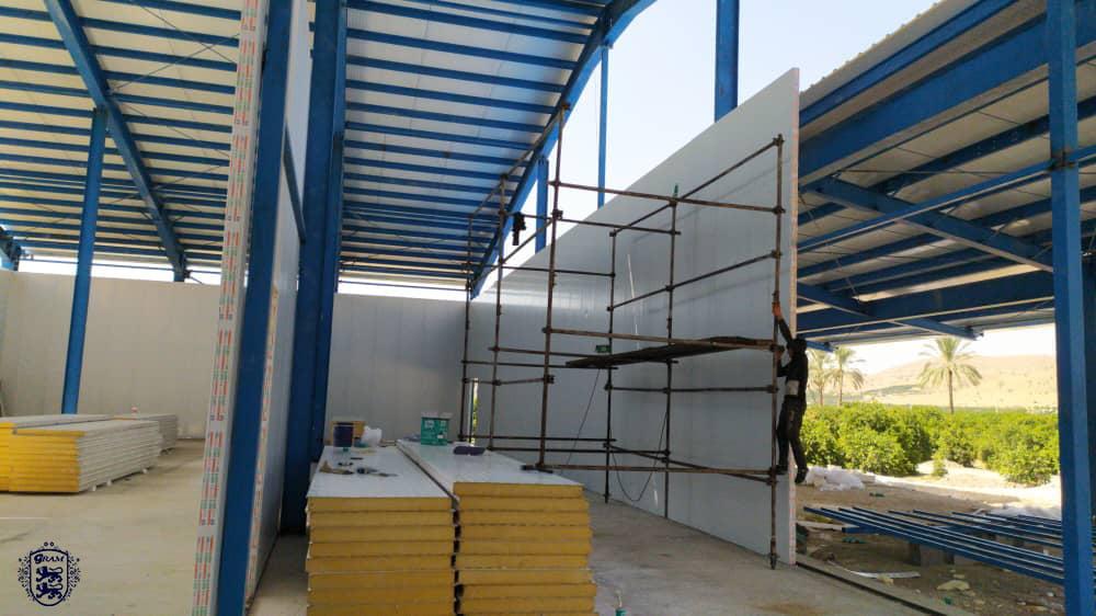 ارائه مشاوره و ساخت سردخانه