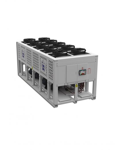 اسکرو هواخنک min - ساخت سردخانه ، تونل های انجماد و چیلر